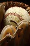 Baseball Mitt and Ball Royalty Free Stock Photo