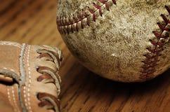 Baseball Mitt and Ball Royalty Free Stock Photography