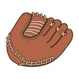 Baseball mitt icon image Stock Photo