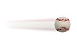 Baseball in motion Royalty Free Stock Photography