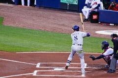 Baseball - MVP Ciupnięcie Ryan Braun Fotografia Stock