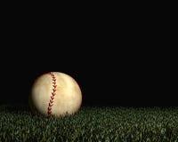 Baseball at night Stock Photos