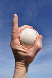 baseball nummer ett Royaltyfria Foton