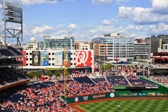 Baseball och politik i Washington Royaltyfria Bilder