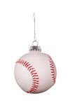 Baseball ornament Stock Photo