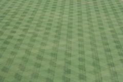 Baseball outfield pattern. Green grass and pattern of a baseball outfield Stock Photos