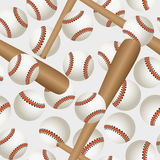 Baseball pattern Stock Image