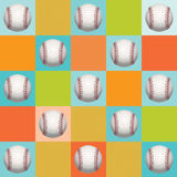 Baseball Pattern Background Royalty Free Stock Photography