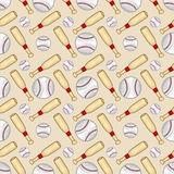 Baseball pattern - Sport - # 1 Stock Image