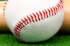 Baseball piłka Fotografia Royalty Free