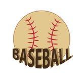 Baseball piłka Fotografia Stock