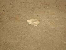 Baseball - piatto domestico Immagine Stock Libera da Diritti