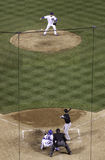 Baseball - Pick Off Attempt Stock Images