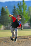 Baseball Pitcher 2 royalty free stock photos