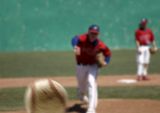 Baseball Pitcher Royalty Free Stock Image