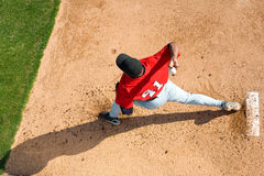 Baseball Pitcher royalty free stock photo