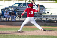 Baseball Pitcher. Little League Baseball Pitcher Royalty Free Stock Photography