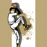 Baseball Pitcher background Stock Photo