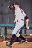 Baseball pitcher - bullpen Royalty Free Stock Images