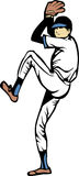 Baseball Pitcher Cartoon Stock Photo