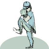 Baseball Pitcher. An image of a baseball pitcher Royalty Free Stock Photo