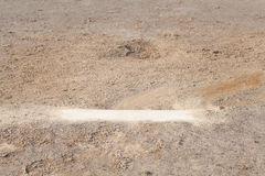 Baseball Pitching mound Stock Photos