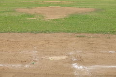 Baseball Pitching mound Royalty Free Stock Photography