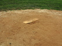 Baseball Pitching Rubber Stock Images