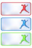 Baseball Plates Stock Image