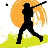 Baseball Player. Illustration of a baseball player Stock Image