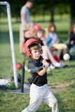 Baseball Player. Boy Getting Ready to Hit a Home Run royalty free stock photography