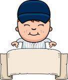 Baseball Player Banner Royalty Free Stock Photos
