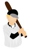 Baseball Player Icon Stock Images