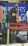 Baseball player Jason Heyward is seen at LAX Royalty Free Stock Photo