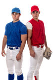 Baseball Players Stock Photo