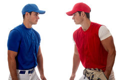 Baseball Players Royalty Free Stock Image