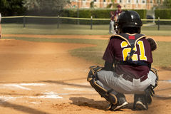 Baseball Players Royalty Free Stock Photos