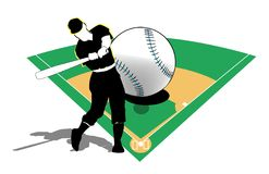 Baseball Playing royalty free stock photography