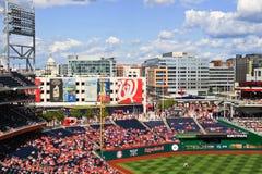 Baseball and Politics in Washington Royalty Free Stock Images