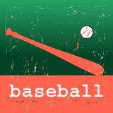 Baseball poster Royalty Free Stock Photos