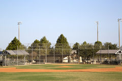 Baseball practice field Stock Photo