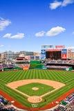 Baseball - Przy Park Narodowy Dzień Gra obrazy royalty free