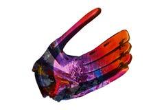 Baseball rękawiczka odizolowywająca obrazy royalty free
