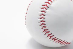 Baseball - Red Stitching Stock Photo
