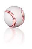Baseball reflection Royalty Free Stock Images