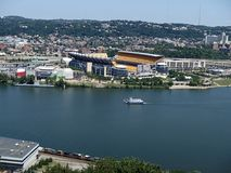 Heinz Field Pittsburgh Pa royalty free stock photo