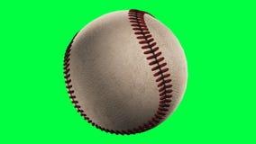 Baseball, Schleife nahtlos, Alphakanal stock footage