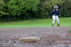 Baseball-Seitentrieb Stockfoto