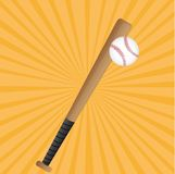 Baseball set Royalty Free Stock Photography