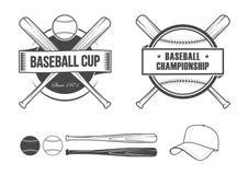 Baseball set Stock Image